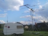 Ground station czCube and GES-ELECTRONICS at 22.9.2012
